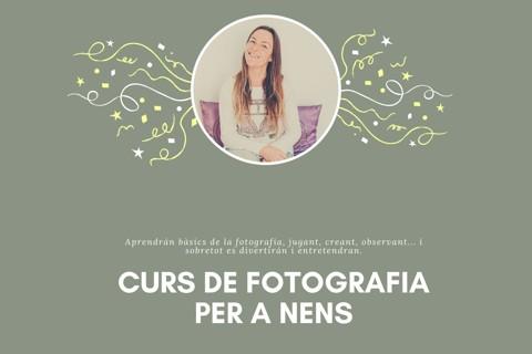 CURS DE FOTOGRAFIA ONLINE PER A INFANTS (CATALÀ)